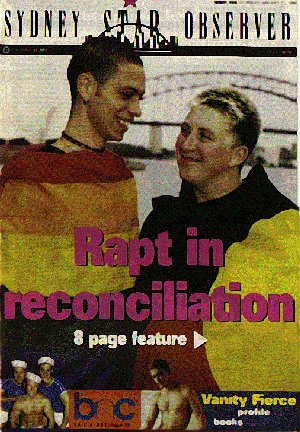 Sydney Star Observer #389 Reconciliation 8 page feature
